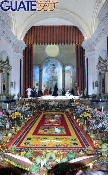 procesiones semana santa guatemala. Estas cambian de semana a