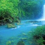 Cascada Río Azul, Huehuetenango, Guatemala