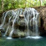 El Paraíso Cascada de Agua Caliente, El Estor, Izabal Guatemala