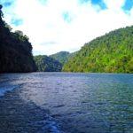 Grandioso Lago de Izabal en Guatemala