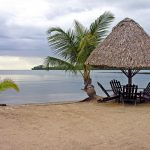 Playa Dorada se encuentra en el Lago de Izabal, Guatemala